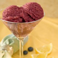 Lemon-blueberry Sorbet