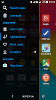 Screenshot of Kit Kat Xperien Theme