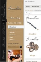 Screenshot of Bronzallure Greece Jewelry