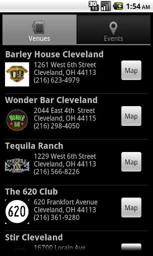 Cleveland Bar Scene