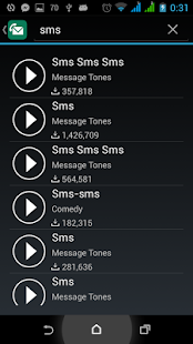 SMS Ringtone for Android - screenshot