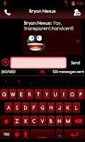 Screenshot of RedGinger Theme CM7