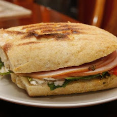 Roasted Turkey Pesto Panini