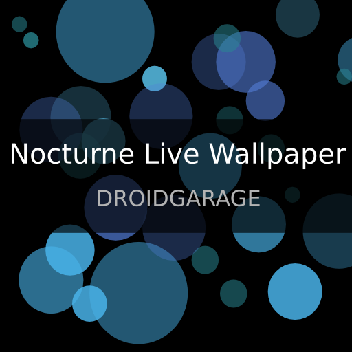 Nocturne Live Wallpaper 個人化 App LOGO-APP試玩