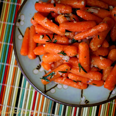 Tarragon Glazed Carrots