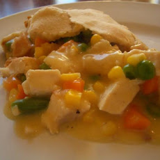 Easiest Chicken Pot Pie