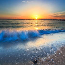 Beach by Yan Eguchi - Landscapes Sunsets & Sunrises
