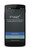Screenshot of Truppr