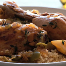 Lemon Olive Chicken with Couscous