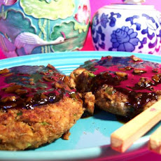 Teriyaki-Glazed Salmon Patties