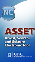 Screenshot of ASSET: Arrest-Search-Seizure