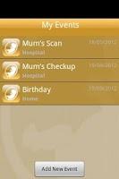Screenshot of Baby Countdown