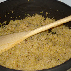 Plain Cooked Quinoa in Rice Cooker