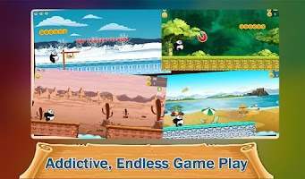 Screenshot of Run Panda Run: Joyride Racing