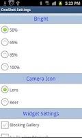 Screenshot of Oneshot Silent Camera Lite