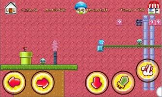Screenshot of Super Ninja Girl Free