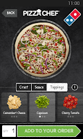 Screenshot of Domino's