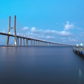 Ponte Vasco da Gama by João Pedro Pereira - Buildings & Architecture Bridges & Suspended Structures ( nikon d5100, ponte vasco da gama, portugal, jpic photography, lisboa,  )