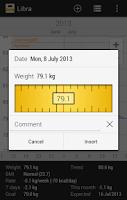 Screenshot of Libra - Weight Manager