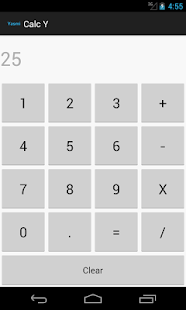 Simple Calculator - screenshot
