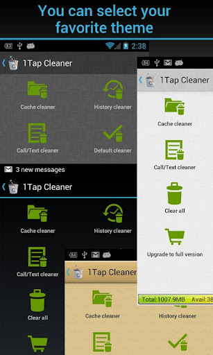 1tap-cleaner for android screenshot