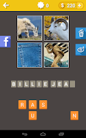 Screenshot of Guess The Song: 4 Pics 1 Song