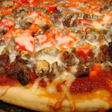 Ground Beef Pizza