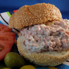 Dill Tuna Fish Sandwich