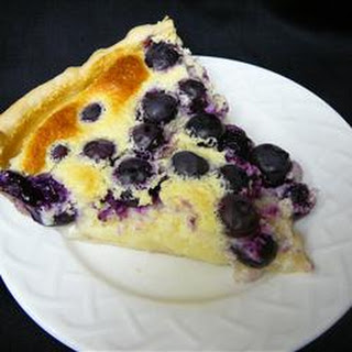 Blueberry Custard Pie Recipes