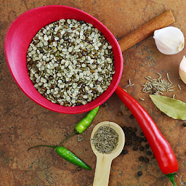 by Dipali S - Food & Drink Ingredients ( daal, red, garlic, cuisine, chil, bay leaf, food, indian, pepper, legumes, cumin )