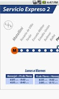 Screenshot of Via Lima: Metro de Lima
