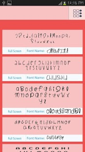 Heart Fonts Free - screenshot