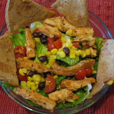 Quesadilla Yee-Haa! Salad (Hungry Girl) 6 Ww Points