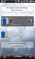 Screenshot of Bluetooth Switch