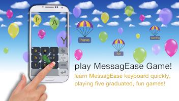 Screenshot of MessagEase Keyboard