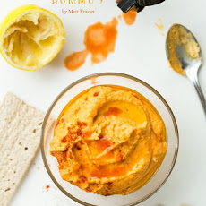 No Meat Athlete's Buffalo Hummus