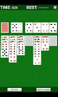 Screenshot of Solitaire Plus