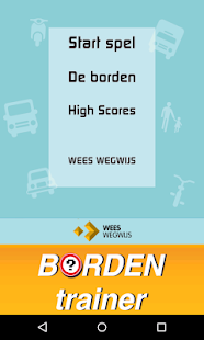 Wees Wegwijs Bordentrainer - screenshot