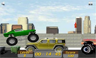 Screenshot of Crazy Truck - Mustang