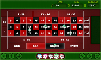 Screenshot of American Roulette
