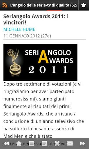 【免費新聞App】Seriangolo-APP點子