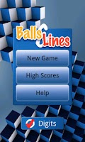 Screenshot of Balls and Lines