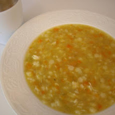 Pastina Chicken Soup