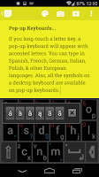 Screenshot of Qwerty6 Keyboard