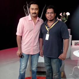 With actor Prasanna .. by Sha-vin Da Prince - People Group/Corporate