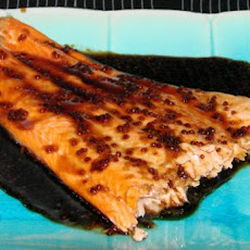 Ana's Honey and Soy Glazed Salmon