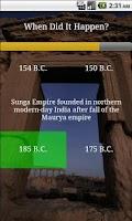 Screenshot of Learn World History (Free)
