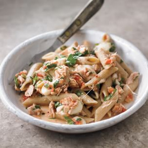 Whole-Wheat Penne with Oil-Cured Tuna (Penne Integrali al Tonno)