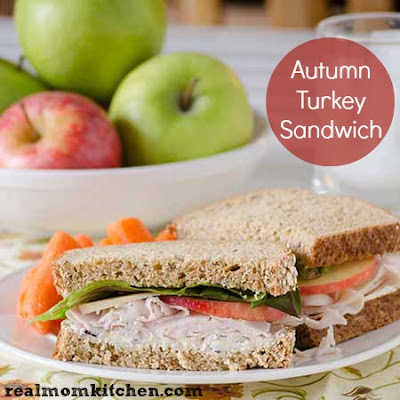 Autumn Turkey Sandwich