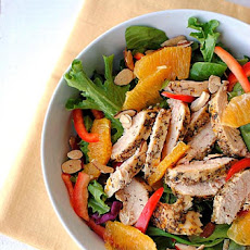 Grilled Honey-Orange Chicken Salad
